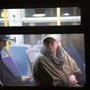 A Portland bus rider. (Wesley Lapointe)