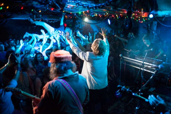 Ty Segall and the Muggers in the Galaxy Barn. IMAGE: Bridget Baker.