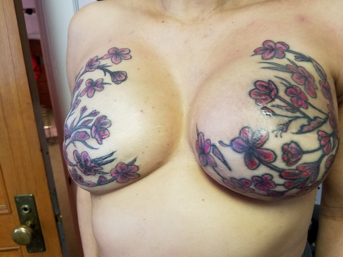 Portland is one of the only places where breast cancer for Female nipple tattoos