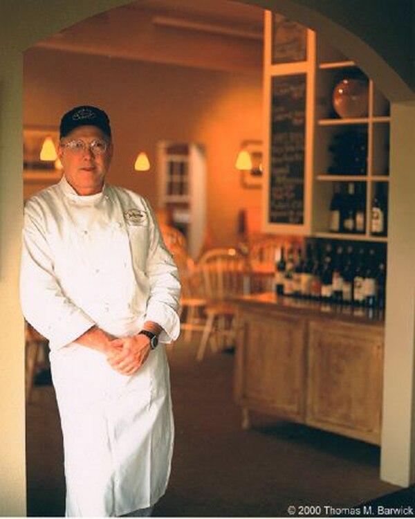 Chef Pounding at Blackfish