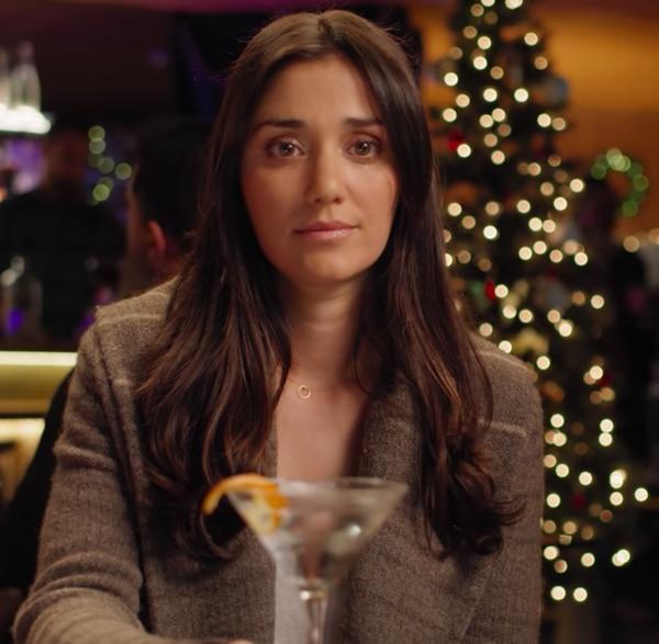 """Peloton wife"" Monica Ruiz in an ad for Aviation Gin. IMAGE: YouTube."