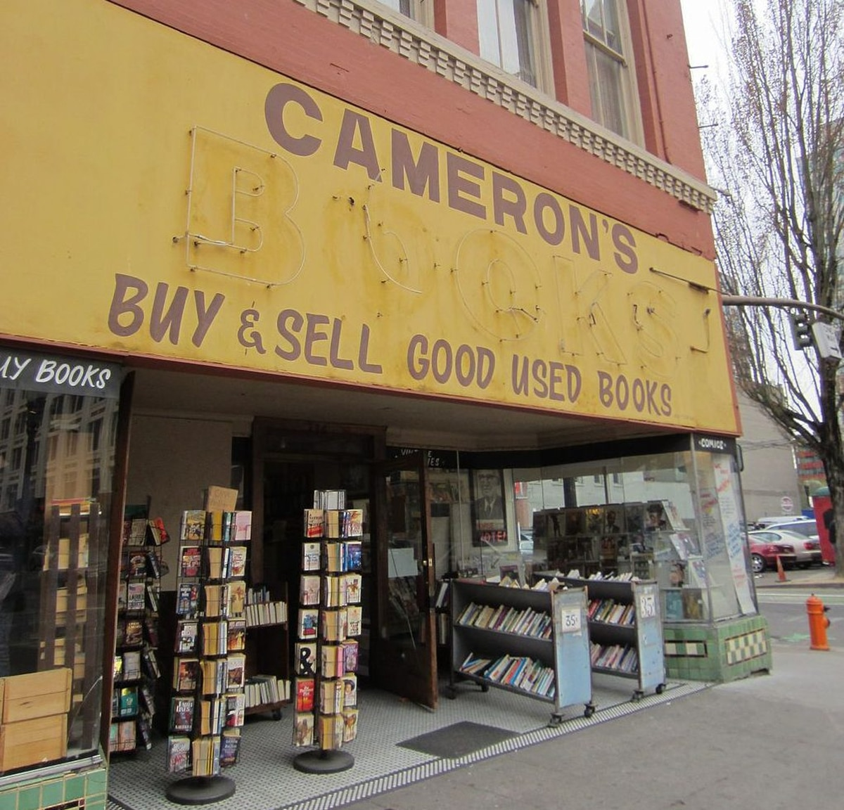 Portland's Oldest Used Bookstore Is In Danger Of Closing