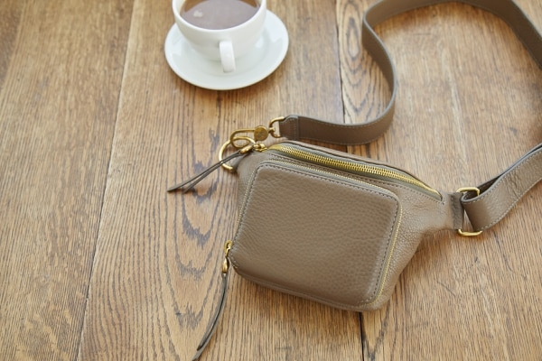 """Hobo's """"Pulse"""" belt bag, one of their many hands-free designs."""