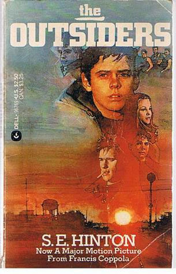 The Outsiders Book Cover Pictures : Outsiders author s e hinton talks matt dillon and why