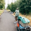 Springwater Corridor homeless sweep on Sept. 1, 2016. (Henry Cromett)