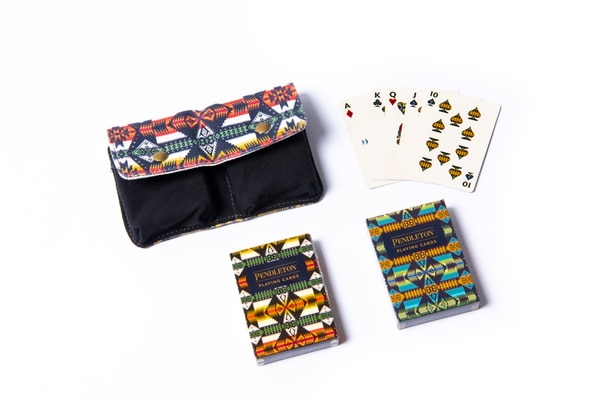 Pendleton Two-Deck Play Cards. (Thomas Teal)