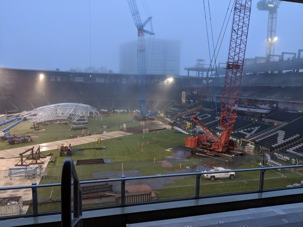 Providence Park expansion.