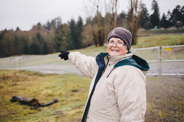 Linda Robinson, chair of Friends of Gateway Green. (Christine Dong)