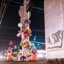 Memorial for a Portlander killed in traffic. (Wesley Lapointe)