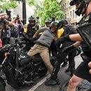 Portland protest, Aug. 17, 2019 (Justin Katigbak)