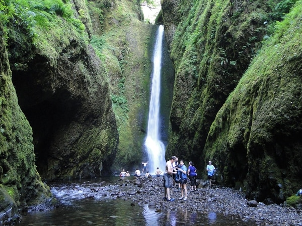 Oneonta Gorge Falls/Amy Meredith