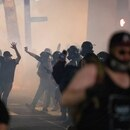 Portland police deployed tear gas against protesters June 2. (Wesley Lapointe)