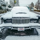 Snow in Portland on Feb. 21, 2018. (Sam Gehrke)