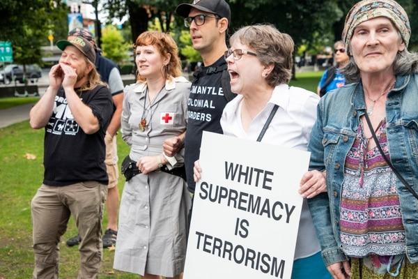 Antifascists, Aug. 17, 2019 (Wesley Lapointe)