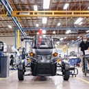 Inside the Arcimoto plant in Eugene. (Wesley Lapointe)
