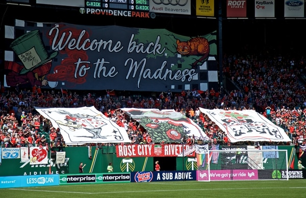 Portland, OR – Sunday, June 2, 2019: Portland Thorns vs Chicago Red Stars at Providence Park. (Craig Mitchelldyer/Portland Thorns FC)