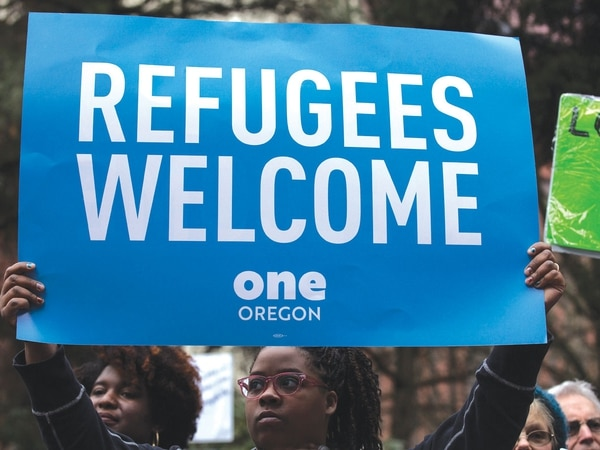Image result for refugees welcome one oregon