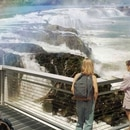A rendering of the Willamette Falls Legacy Project.