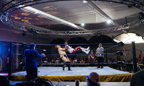 Every Sunday, You Can Watch High-Drama, Low-Budget Wrestling