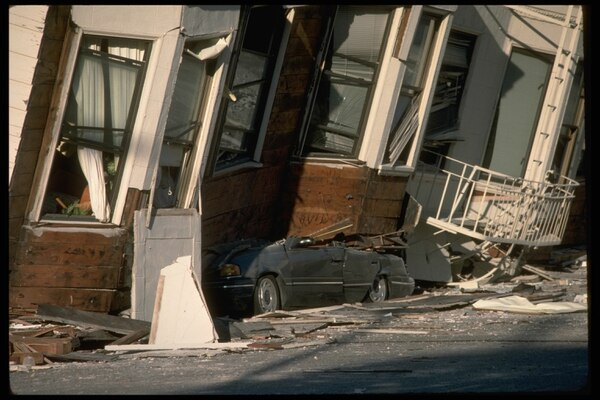 San Francisco after the 1989 Loma Prieta earthquake. (U.S. Geological Survey/Flickr)