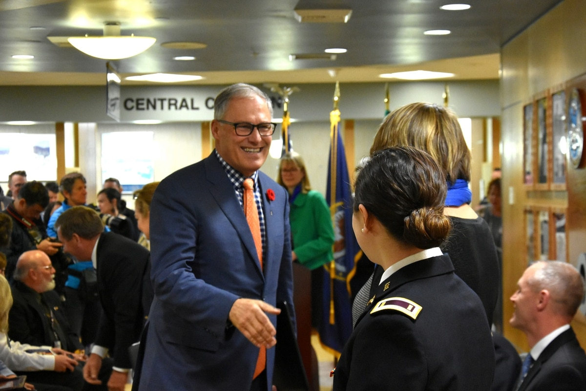 Washington Governor Jay Inslee joins Democratic presidential field