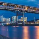 Marquam Bridge and Tilikum Crossing (Tony Webster/Flickr)