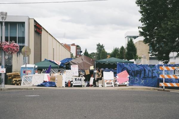 Occupy ICE. (Daniel Stindt)