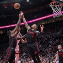 Trail Blazers face the Miami Heat on March 12, 2018 at the Moda Center. (Bruce Ely / Trail Blazers)