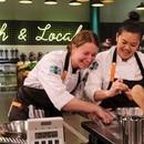 Sara Hauman (left) and Jamie Tran on Episode 2 of Top Chef Portland. IMAGE: David Moir/Bravo.