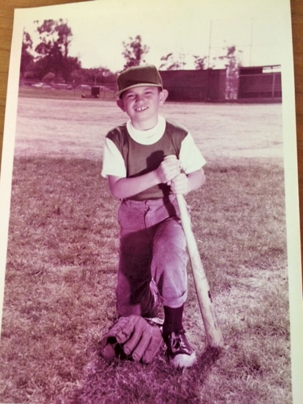 Brad Mayer loved baseball, especially his hometown L.A. Dodgers.(Courtesy of Stephanie Kenney)