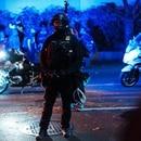 A Portland riot cop in September of 2020. (Alex Wittwer)