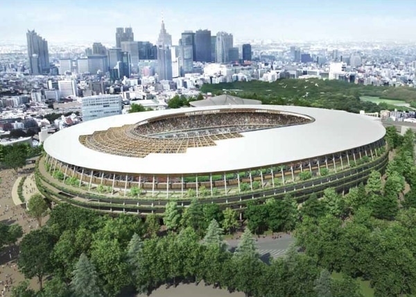 Kuma's Stadium Design