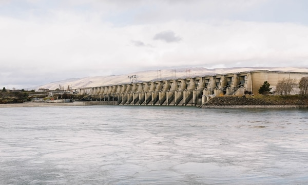 Columbia River hydropower has drawn the eye of cryptocurrency miners. A dozen of them are seeking to open industrial-sized mines in The Dalles, Ore. (Christine Dong)