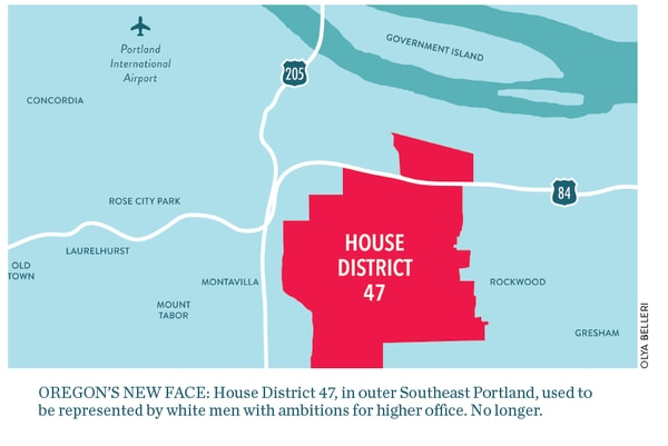 4d0cbfe7 In 2012, the district underwent a historic change. That's when Smith left  to run for Portland mayor and Jessica Vega Pedersen succeeded him—becoming  the ...