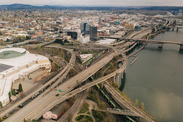 I-5, rush hour, March 26 (Henry Cromett)