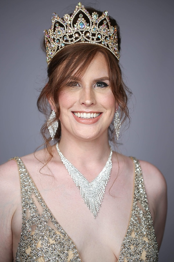"""""""This is about having my voice heard,"""" Green says. """"That, to me, is what pageantry is about."""" (Eva Flis)"""