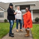 (From left) Tabitha Jensen, Robin Donart and Deonza Watson care for children at Robinswood, a haven in Lake Oswego that has aided more than 250 kids in Oregon's foster care system. (Will Corwin)