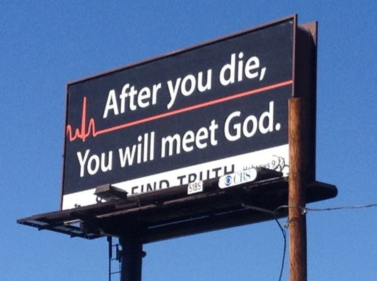 after you die will meet god for coffee