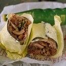 WINNER'S DINNER: Shelby Houlihan blamed a failed drug test on a pig-stomach burrito. (Brian Brose)