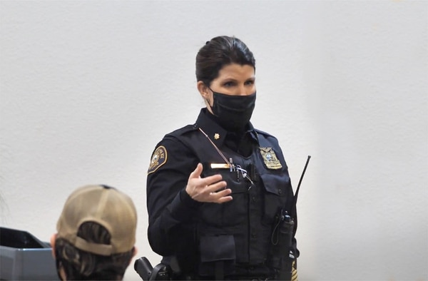 Cmdr. Erica Hurley (Video Still)