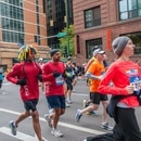 Runners in the 2012 Chicago Marathon. IMAGE: bradhoc / Wiki Commons.
