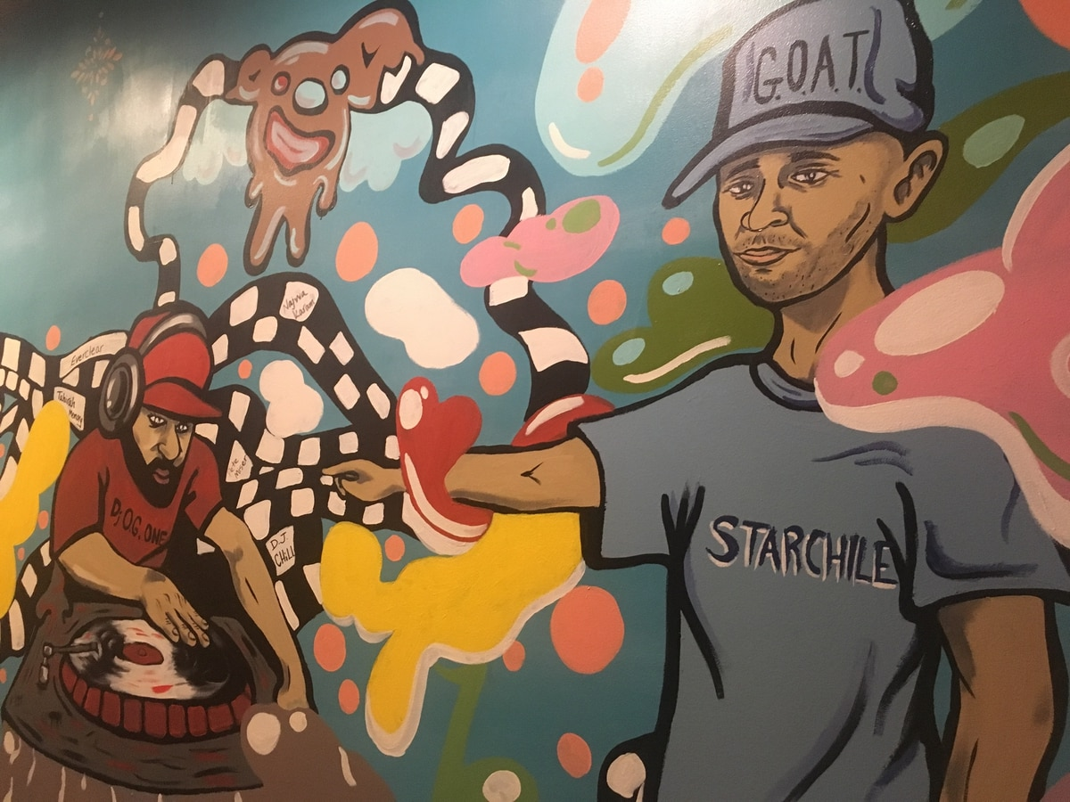 The Trail Blazers' In-House DJ OG One Has Opened a Mediterranean Restaurant in Southeast Portland