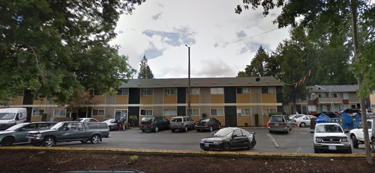 North Portland Apartment Building With Public School Students