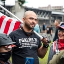 Joey Gibson, Aug. 17, 2019 (Wesley Lapointe)