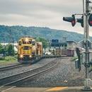 Northwwest Portland train tracks. (Tony Webster)