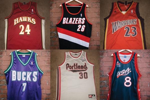 2ba3dd20de3 Three NBA Jersey Collectors Show Off Their Rarest Finds - Willamette ...