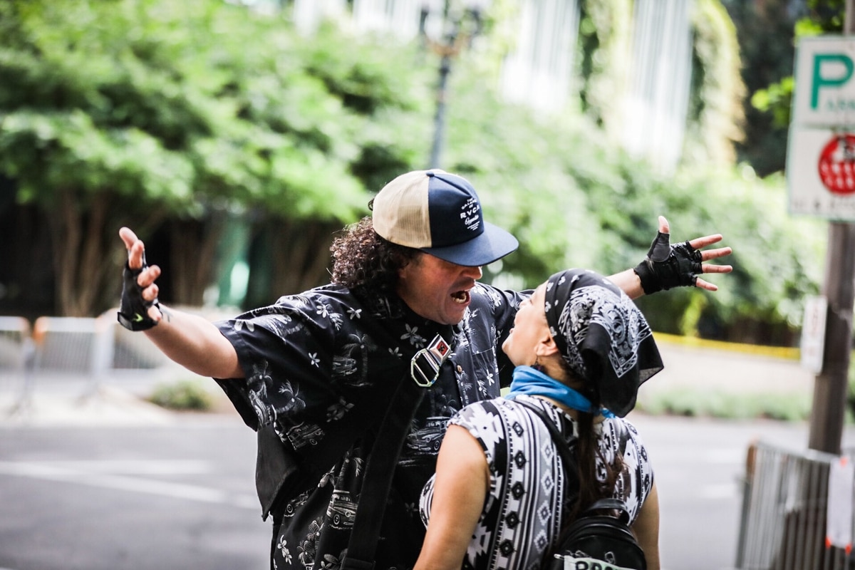 Several injured as protesters clash in Portland