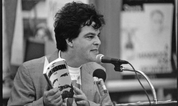 Adam Parfrey at Powell's in 1992. (James Rexroad)