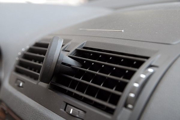 This little guy from WizGear snaps into place in your air vents. (Courtesy of WizGear)