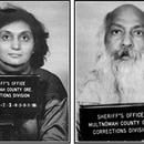 Ma Anand Sheela and Bhagwan Shree Rajneesh. (Multnomah County Archives)